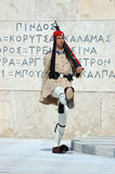 presidents- athens ändringsgreece grekisk guard Arkivfoto