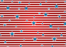 Presidents Day abstract USA flag colors background Royalty Free Stock Photography