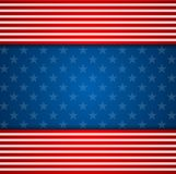 Presidents Day abstract USA flag colors background Stock Photo