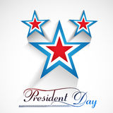 Presidents day American Independence Day Royalty Free Stock Image