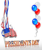 Presidents day Background 2 Stock Photos