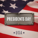 Presidents day background. Royalty Free Stock Images
