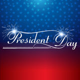 Presidents day background united states stars illustration Stock Photo