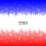 Presidents day background united states stars Royalty Free Stock Photo