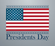 Presidents day background, united states Royalty Free Stock Photos