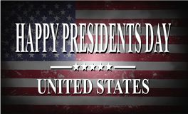 Presidents day background. With USA flag Vector Illustration