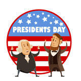 Presidents day banner Stock Photography