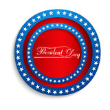 Presidents day Beautiful united states background Stock Photography