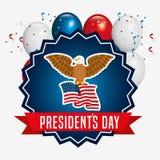 Presidents day design Stock Image