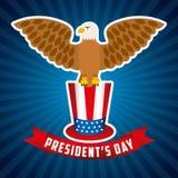 Presidents day design Royalty Free Stock Photos