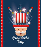 Presidents day design. Illustration eps10 graphic Stock Photos