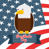 Presidents day design Royalty Free Stock Photo
