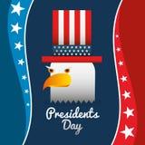 Presidents day design Stock Photos