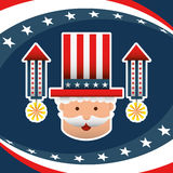 Presidents day design. Illustration eps10 graphic Royalty Free Stock Images