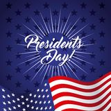 Presidents day design Royalty Free Stock Photo