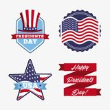 Presidents day design vector illustration