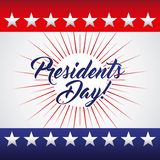 Presidents day design. Vector illustration eps10 graphic royalty free illustration