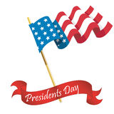 Presidents day Stock Photography