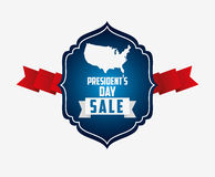 presidents day sale design Stock Image