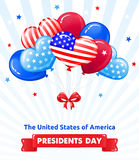 PRESIDENTS DAY in the USA Royalty Free Stock Photography