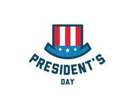 Presidents day vector typography. vector illustration