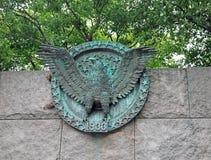 Presidents- Eagle Seal Royaltyfri Bild