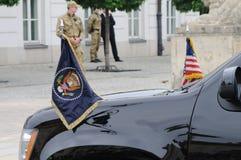 presidents- flagga royaltyfri fotografi