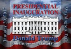 Presidents- invigning för Förenta staterna Fotografering för Bildbyråer