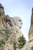 Presidents of Mount Rushmore National Monument. Royalty Free Stock Images