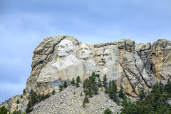 Presidents of Mount Rushmore National Monument. Royalty Free Stock Photo