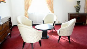 Presidents Private Room - Independence Palace - Ho Chi Minh City stock video