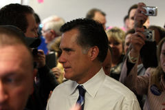 presidents- romney för hoppfull karda Arkivfoton