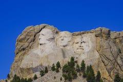 Presidents- skulptur på Mount Rushmore den nationella monumentet, South Dakota royaltyfri foto