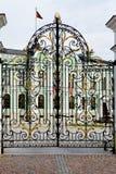 Presidents- slott i Kazan Kremlin arkivfoton