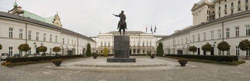 Presidents- slott Warsaw Arkivbild
