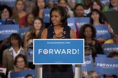 Presidentsfru Michelle Obama royaltyfri foto