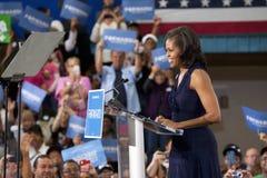 Presidentsfru Michelle Obama royaltyfri fotografi