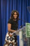 Presidentsfru Michelle Obama Fotografering för Bildbyråer
