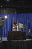 Presidentsfru Michelle Obama Royaltyfri Foto
