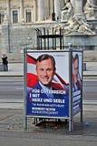 Presidentsverkiezing Oostenrijk stock foto's