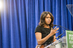 Presidentsvrouw Michelle Obama Stock Afbeelding