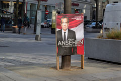 Presidentval Österrike Royaltyfria Foton