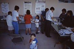 1994 presidentval Mexico - stad Arkivfoton