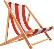 Presidenza di spiaggia Immagine Stock