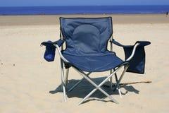Presidenza di spiaggia immagine stock libera da diritti