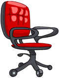 Presidenza domestica della mobilia del fumetto Fotografia Stock
