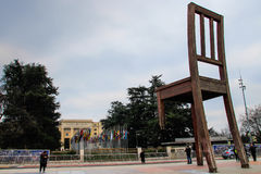 Presidenza rotta Fotografie Stock Libere da Diritti