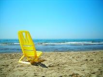 Presidenza sulla spiaggia Immagine Stock Libera da Diritti