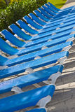 Presidenze di spiaggia Immagini Stock Libere da Diritti