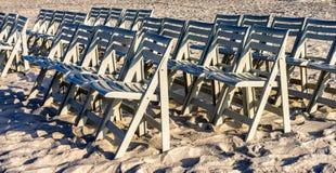 Presidenze sulla spiaggia Immagini Stock Libere da Diritti